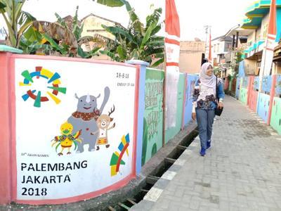 Semarak Asian Games 2018 di Palembang