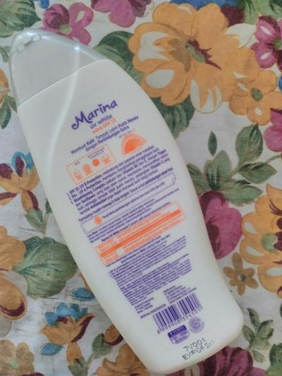 Marina UV White - Hand & Body Lotion