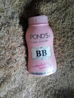 REVIEW pond's magic bb powder