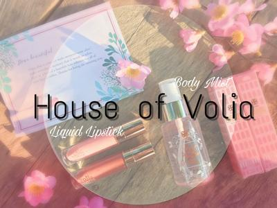 Nyobain Produk dari House of VOLIA (Lip Cream dan Body Mist)