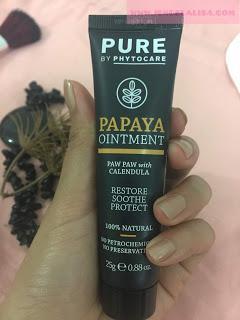 Fungsi PurePapaya Ointment (Pure by Phytocare)