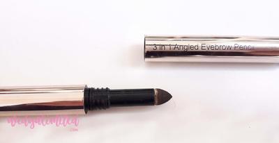 Miniso 3 in 1 Eyebrow Pencil? Pensil Alis Viva versi Upgrade? - Eye Products Favourite #GoersBeautyPostCollaboration