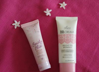 (REVIEW + COMPARISON) Emina Beauty Bliss BB Cream vs Pixy BB Cream Bright Fix
