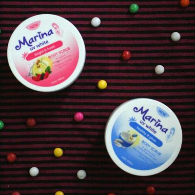 [REVIEW] 2 Varian Marina UV White Body Scrub