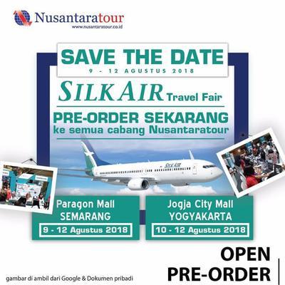 Kampanye Promosi Silk Air Travel Fair di Instagram dotsemarang