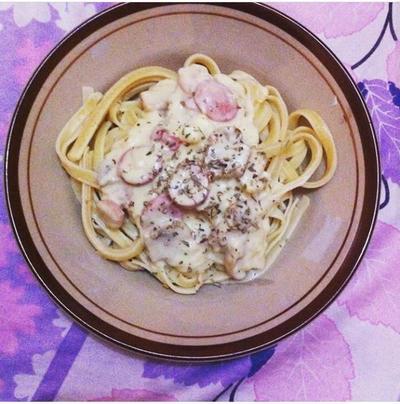 Resep Creamy Fettuccini