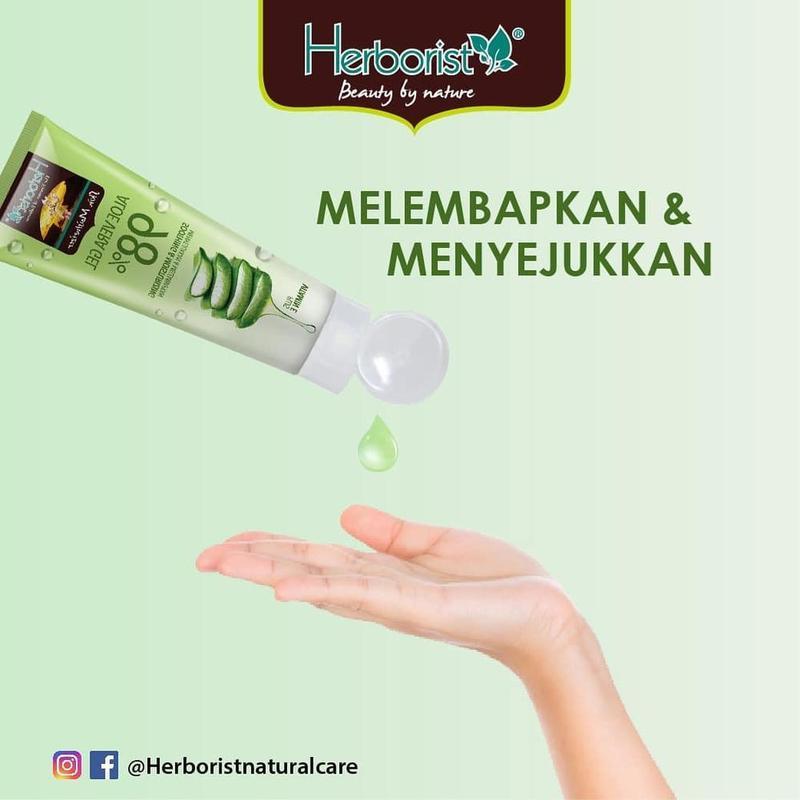 [REVIEW] Herborist Aloe Vera ampuh menghaluskan kulit??