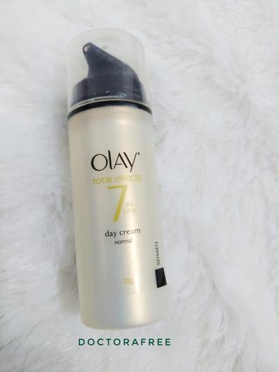 Olay Total Effect 7 in one day cream (normal) Review ( Bahasa Indonesia)