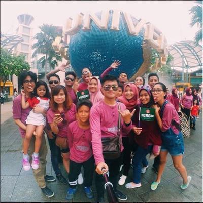 Ngetrip dengan Keluarga Besar Tanpa Travel Agency! Dungde's Family Vacay 30 People in Total!