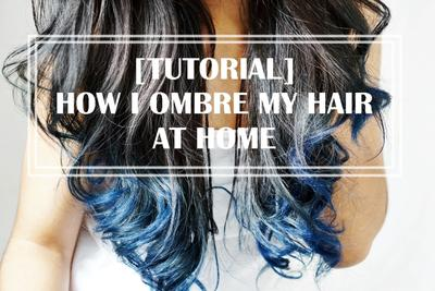 Ombre Hair Sendiri di Rumah ! [Tutorial Step by Step]