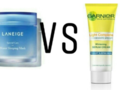 Garnier Night Yoghurt Sleeping Mask vs. Laneige Water Sleeping Mask, Sleeping Mask Mana yang Paling Bagus?