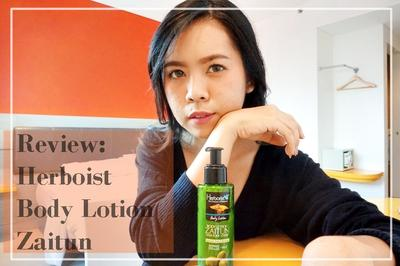 My Moist Skin Works Well w/ Herborist Body Lotion Zaitun (REVIEW)