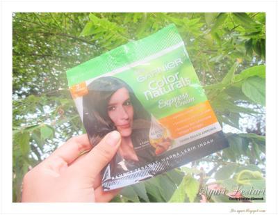 Shining Monday 36 : Garnier Color Naturals Express Cream 3 Coklat Kehitaman Review