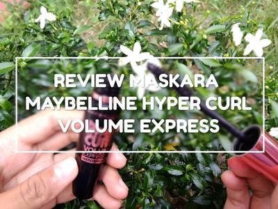 [REVIEW] MAYBELLINE HYPER CURL VOLUME EXPRESS WATERPROOF