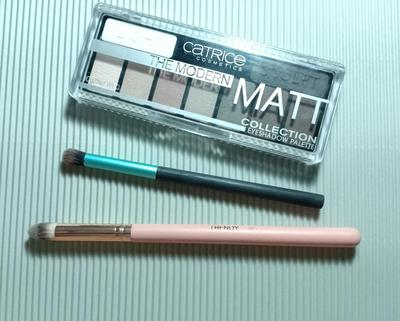 REVIEW CATRICE COSMETICS THE MODERN MATT EYESHADOW PALETTE