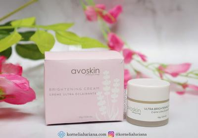 [Skincare Review] - Avoskin Ultra Brightening Cream