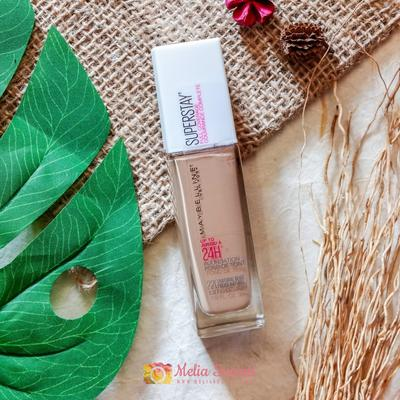 REVIEW MAYBELLINE SUPERSTAY FULL COVERAGE FOUNDATION 24H