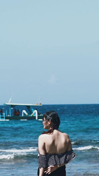 TRAVEL : Blue Lagoon Beach and Bias Tugel Beach, Bali