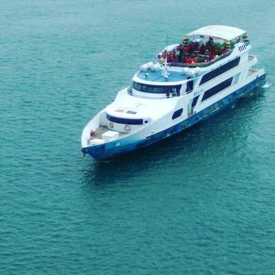 Wisata Mini Cruise MV Sea View Batam.