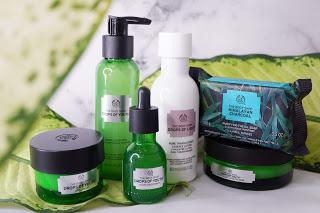 The Body Shop Skincare Routine, Review, and Demo for Oily Skin