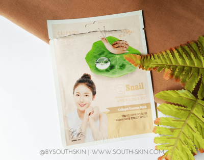 [Review] Celebon Snail Collagen Essence Mask