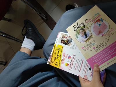 Pelatihan Blog di SMA N 2 Jakarta