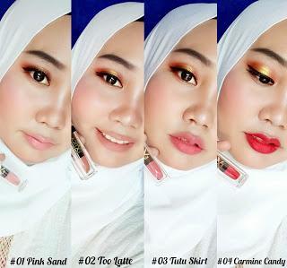 Review Lipstick Lokal Terbaru - Extica Charm Matte Lip Cream