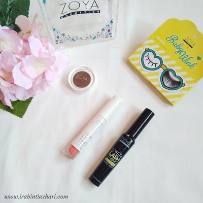 Makeup Challenge dengan 4 produk Zoya Cosmetics