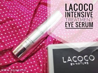 [Review*] : Lacoco Intensive Treatment Eye Serum
