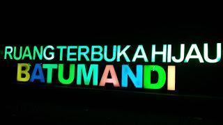 Ruang Terbuka Hijau Batumandi