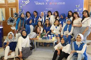 [EVENT REPORT] Tetap Cantik dan Sehat dengan VENUS - Launching Venus Soft Matte Lip Cream