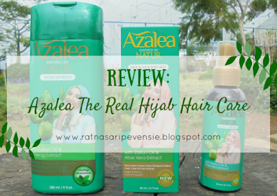 Review: Azalea The Real Hijab Hair Care