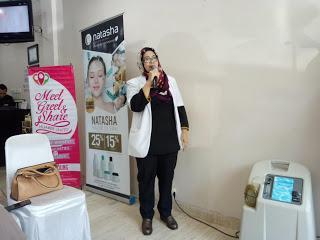 Open House Natasha Skincare Talaga Bogas with hijaberunited Bandung