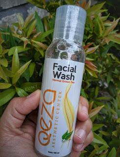 Qeza Facial Wash Bagus