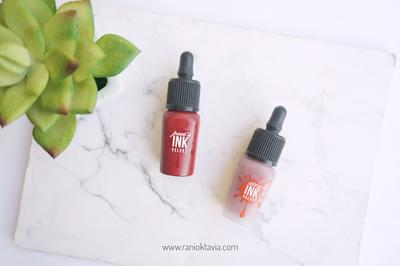 [Makeup Review] Perbandingan Peripera Ink Velvet dan Airy Ink Velvet