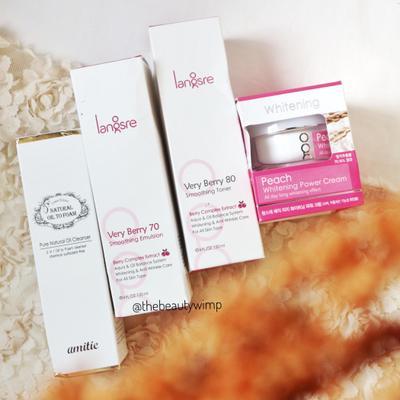 [Review] LANGSRE : Rangkaian Produk Skincare Korea untuk Mencerahkan Wajah Kusam dan Anti-Aging.