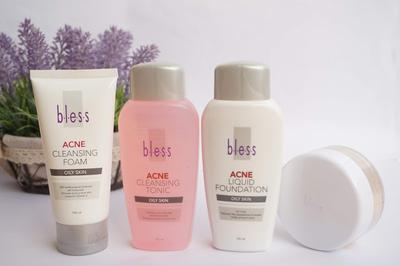 [Skincare Review] Bless Acne Series