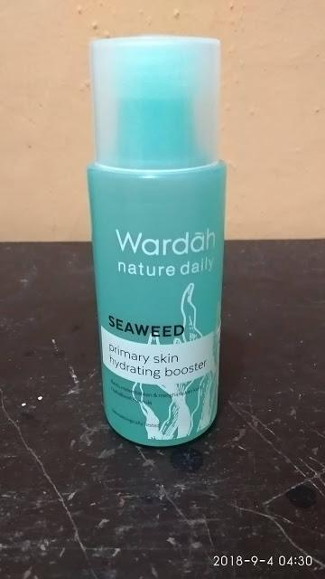 Review WARDAH Nature Daily Seaweed Primary Skin Hydrating Booster | My FAVORITE PRIMER!!
