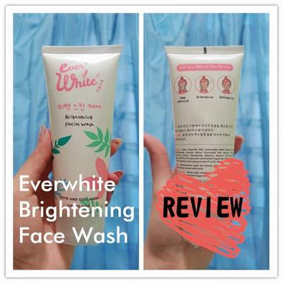 [REVIEW] Everwhite Brightening Face Cleanser