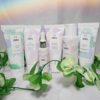 REVIEW Raiku Skincare Anti Aging Series