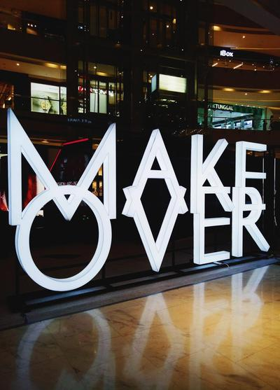 Make Over X Beautynesia : My Very First Event as a Blogger