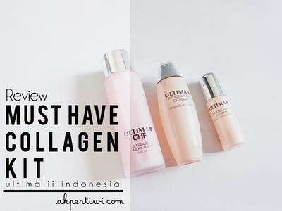 [REVIEW] Ultima II Must Have Collagen Kit