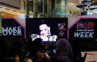 Gathering Blogger Beautynesia di acara Makeover FAB Week Beauty Class