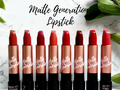 Review: Beauty Story Matte Generation Lipstick (All Shade)