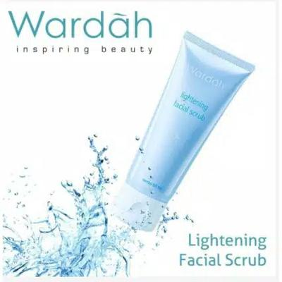 (review) Wardah Lightening Facial Scrub
