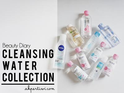[BEAUTY DIARY] Micellar Water/Cleansing Water Collection