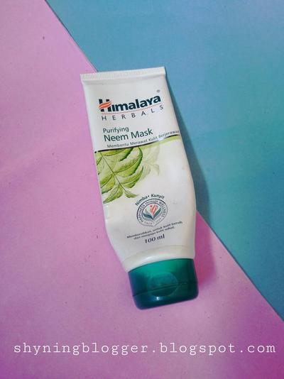 Review Himalaya Herbals Purifying Neem Mask, Clay Mask untuk Kulit Berjerawat [Honest Review]