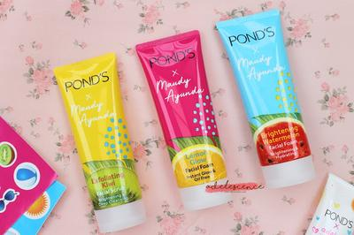 [ review // skincare ] Pond's x Maudy Ayunda Facial Foam (All Variants!)