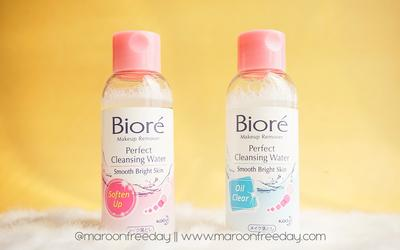 [REVIEW] Biore Perfect Cleansing Water