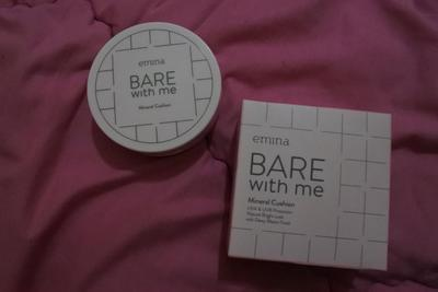 REVIEW EMINA BARE WITH ME MINERAL CUSHION